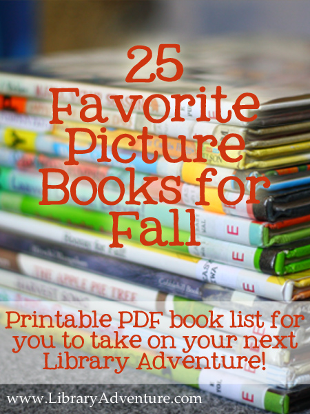 25 Favorite Picture Books for Fall with Printable List