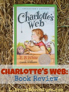 Review of Charlotte's Web by E.B. White with bonus vocabulary list