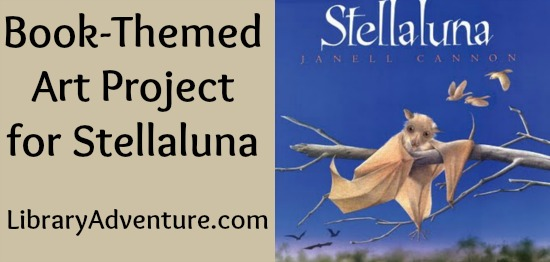 Stellaluna Themed Mixed-Media Art Project