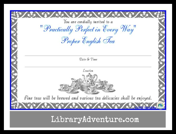 Enjoy a Practically Perfect Tea with Mary Poppins