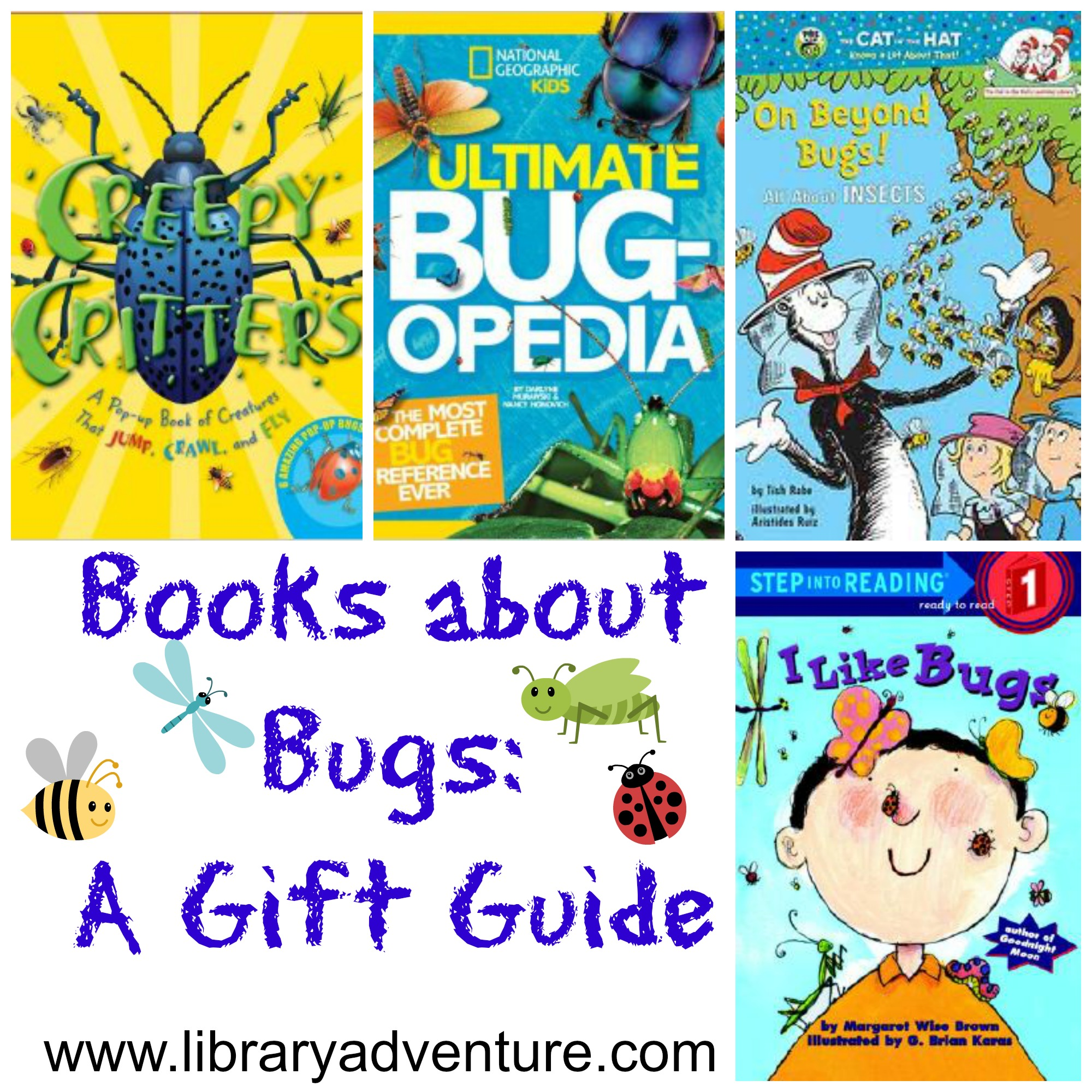 10 Books About Bugs (a Gift Guide)