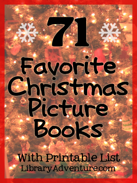 71 Childrens Books for Christmas {With Printable List}