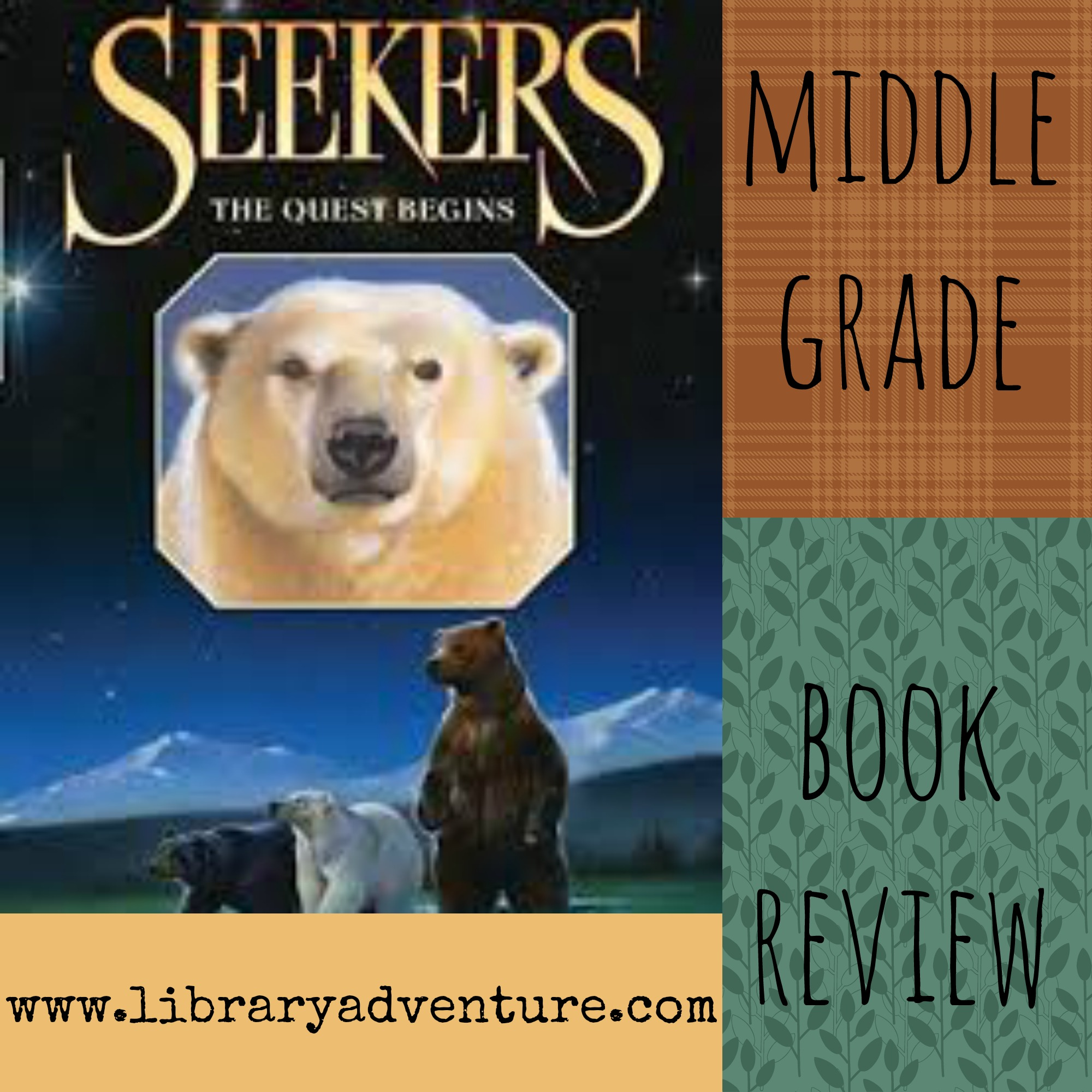 Warriors Erin Hunter Book Review: Seekers: The Quest Begins (a Review