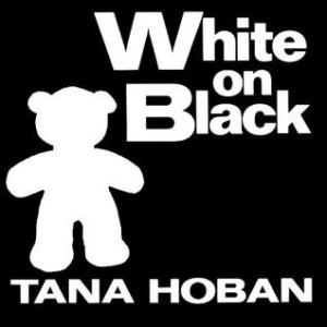 White on Black - Great for baby's first Christmas gift!