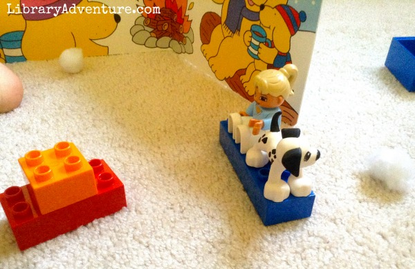 Pretend Play Activities for Spot's Snowy Day {LibraryAdventure.com}