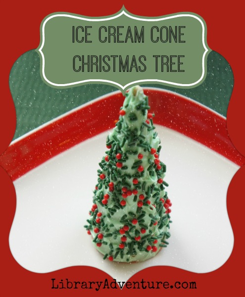 Ice Cream Cone Christmas Tree