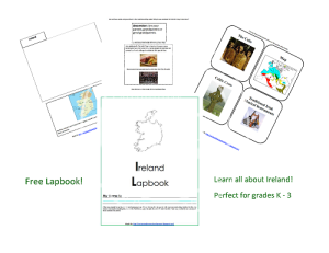 Free printable Ireland lapbook from Enchanted Homeschooling Mom