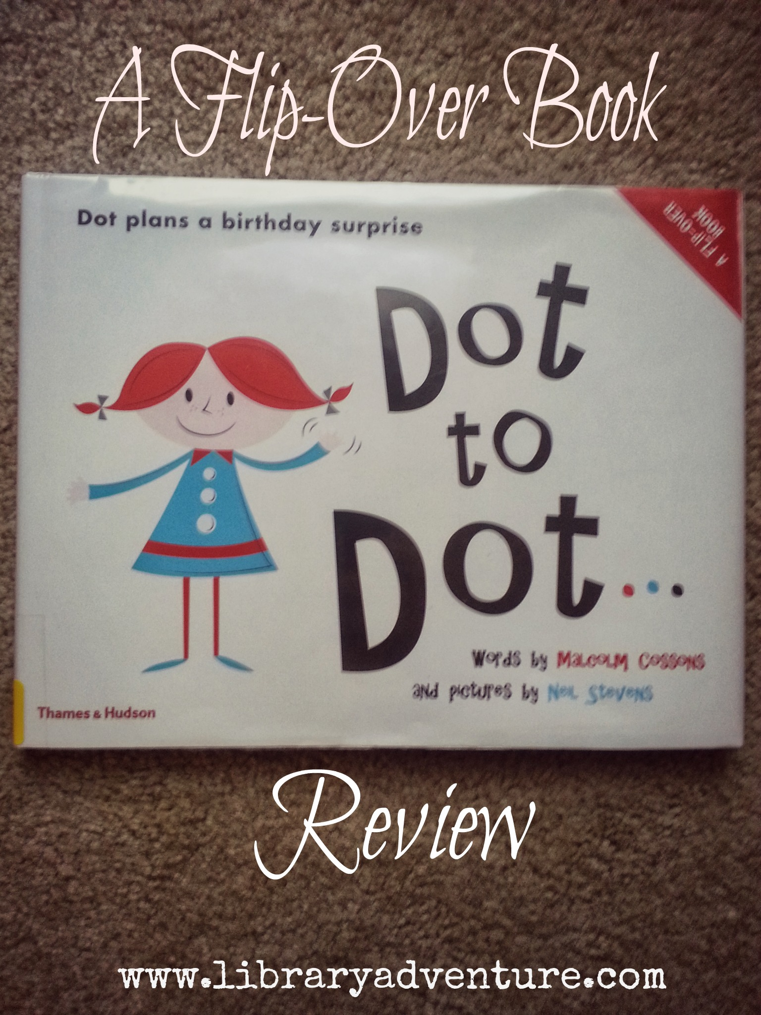 Dot to Dot (a Review) from Jenna at LibraryAdventure.com