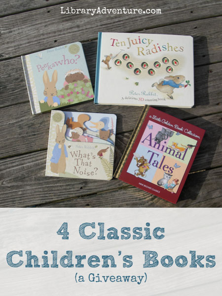 4 Classic Chilren's Books to add to your library on The Library Adventure!