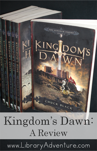 Kingdom's Dawn: A Review | www.LibraryAdventure.com #reviews #series #booksforteens