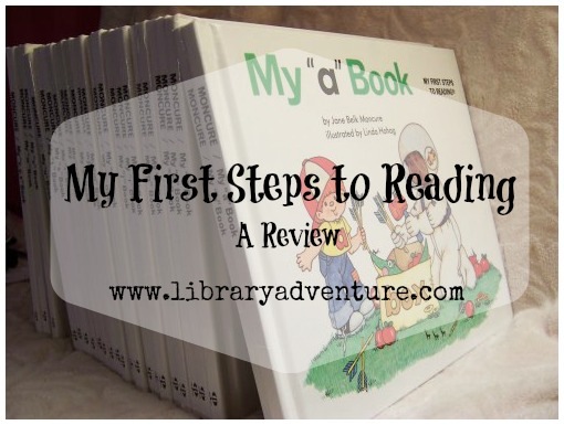 My First Steps to Reading (a Review) on LibraryAdventure.com
