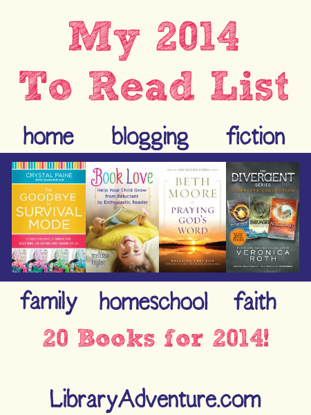 My To Read List – Home, Faith, Homeschool, Blogging, & Fiction