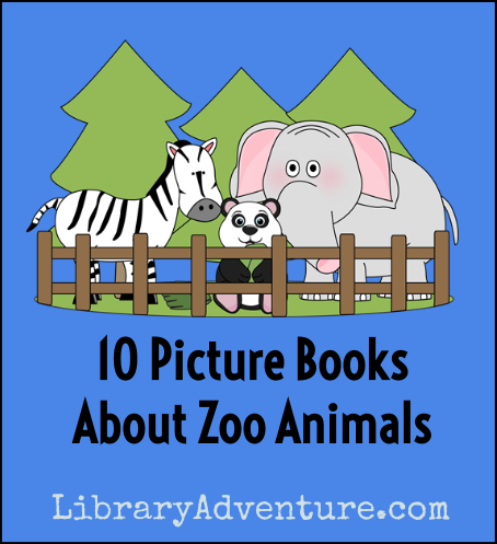 Preschoolers love reading about zoo animals. Share these books with your young animal lovers!