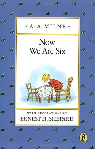 Now We Are Six: #Poetry for Kids | thelibraryadventure.com