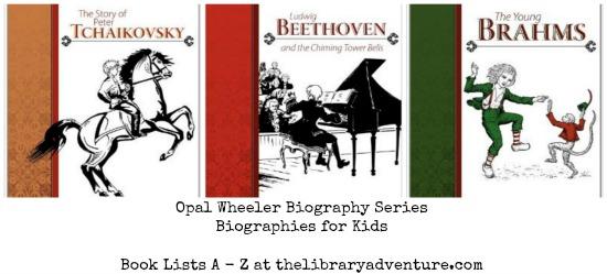 Opal Wheeler #Biographies for Kids - Book Lists A - Z | libraryadventure.com
