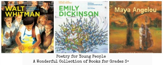#Poetry for Young People Book Series | thelibraryadventure.com