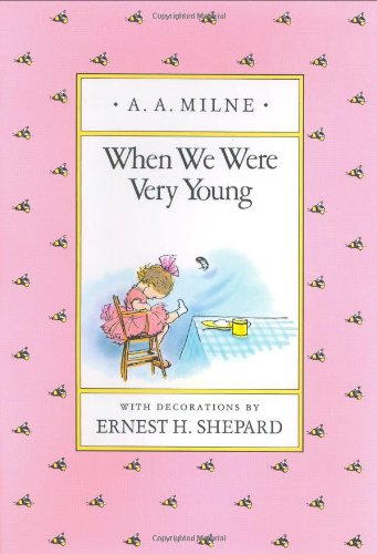 When We Were Very Young: #Poetry for Kids | thelibraryadventure.com