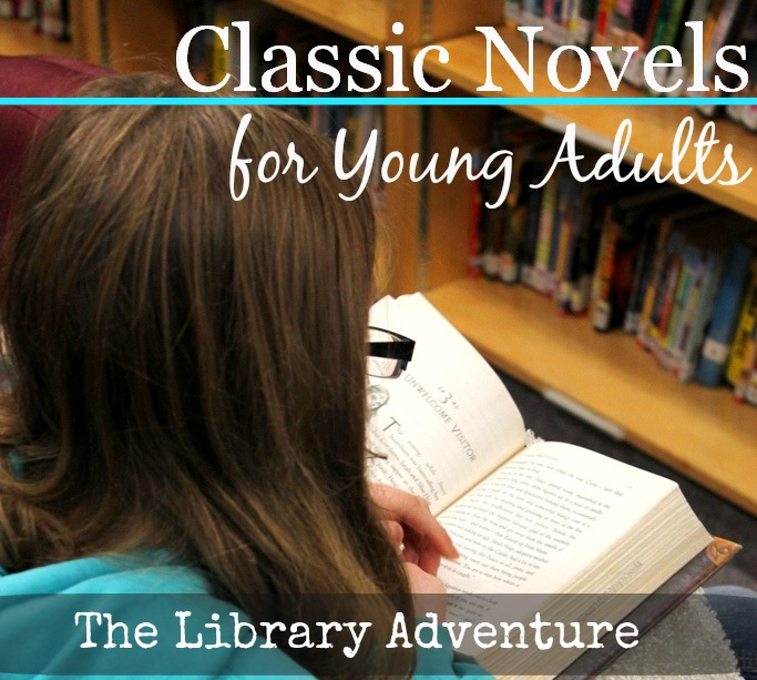 Classic novels for young adults from LibraryAdventure.com
