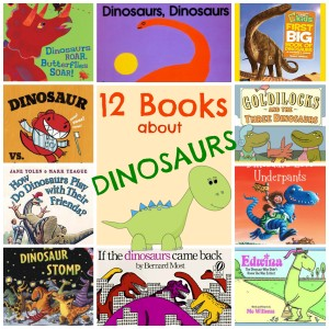 12 Books About Dinosaurs
