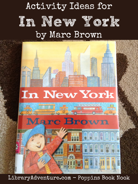 Activity Ideas for In New York by Marc Brown