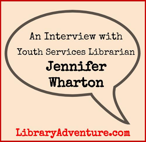 Meet Jennifer Wharton, Youth Services Librarian