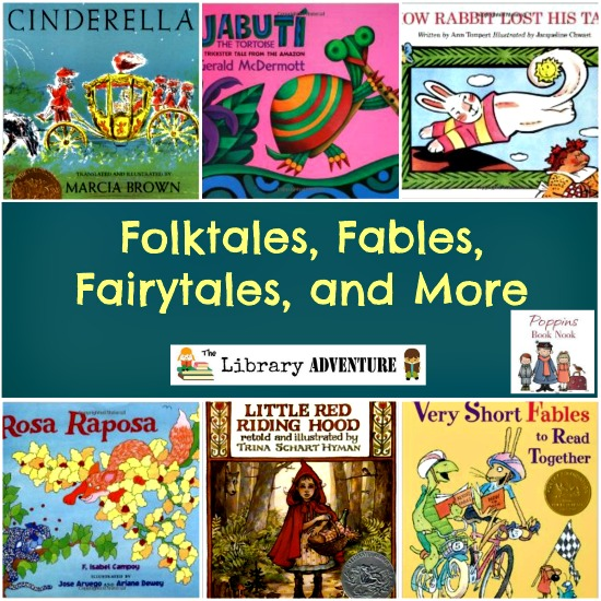 Folktales, Fables, Fairytales, and More