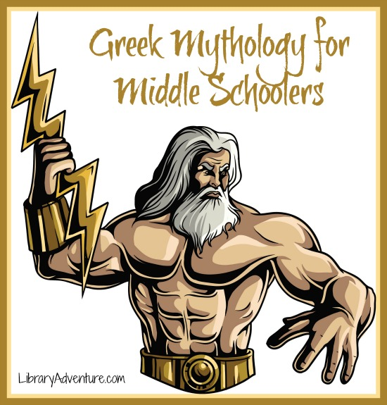 Greek Mythology Books for Middle School