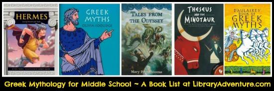 Greek #Mythology: A Book List at LibraryAdventure.com
