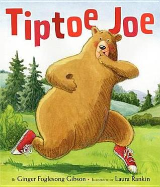 Tiptoe Joe by Ginger Fogleson Gibson, Illustrated by Laura Rankin - Using Picture Books to Accompany Developmental Therapy {LibraryAdventure.com}