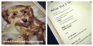 I Didn't Do It - Lisa reviews a cute picture book for dog lovers on LibraryAdventure.com