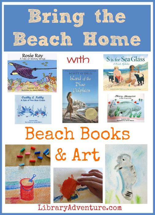 Bring the Beach Home with Beach Books & Art