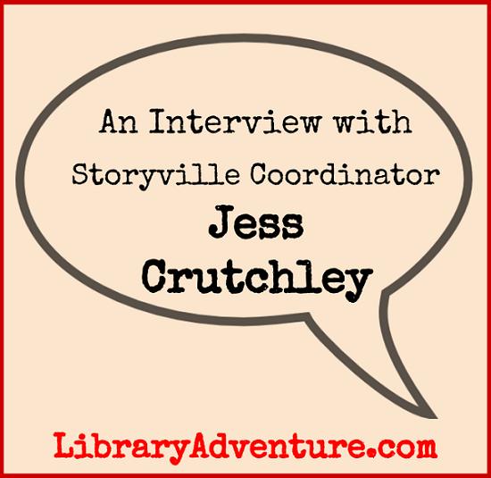 Meet Jess Crutchley, Storyville Coordinator on LibraryAdventure.com