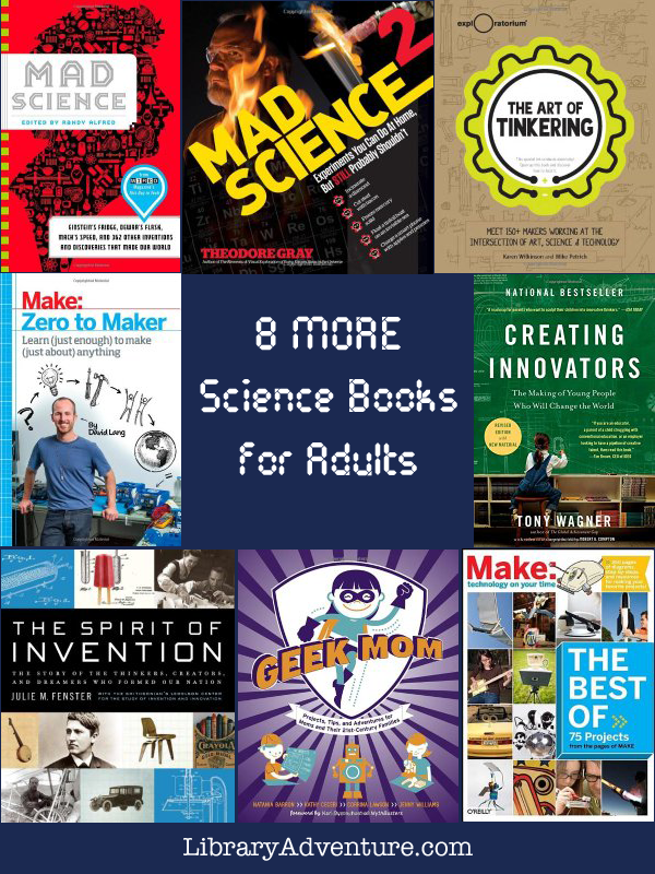 8 More Awesome Science Books for Adults