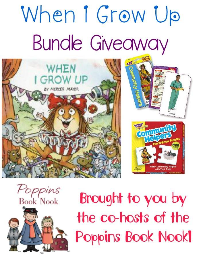 When I Grow Up Book Bundle Giveaway