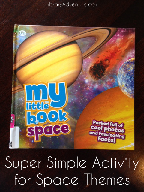 Super Simple Activity for Space Themes | LibraryAdventure.com