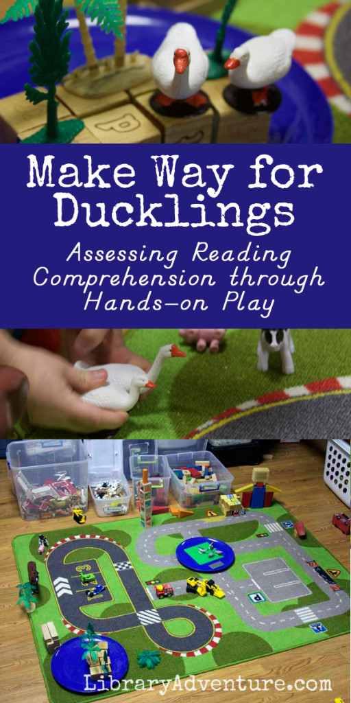 Make Way For Duckling - Assessing Reading Comprehension Through Hands On Play