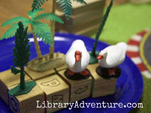 Make Way for Ducklings: Assessing Reading Comprehension with Hands On Play