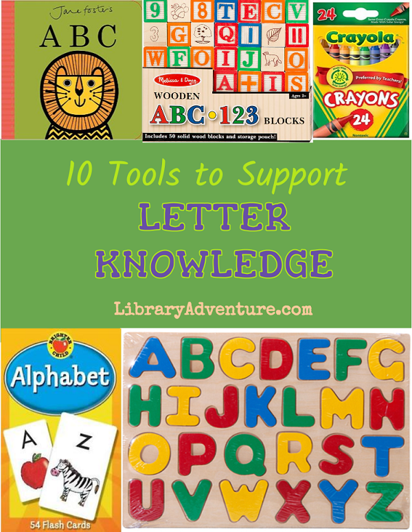10 Tools to Support Letter Knowledge