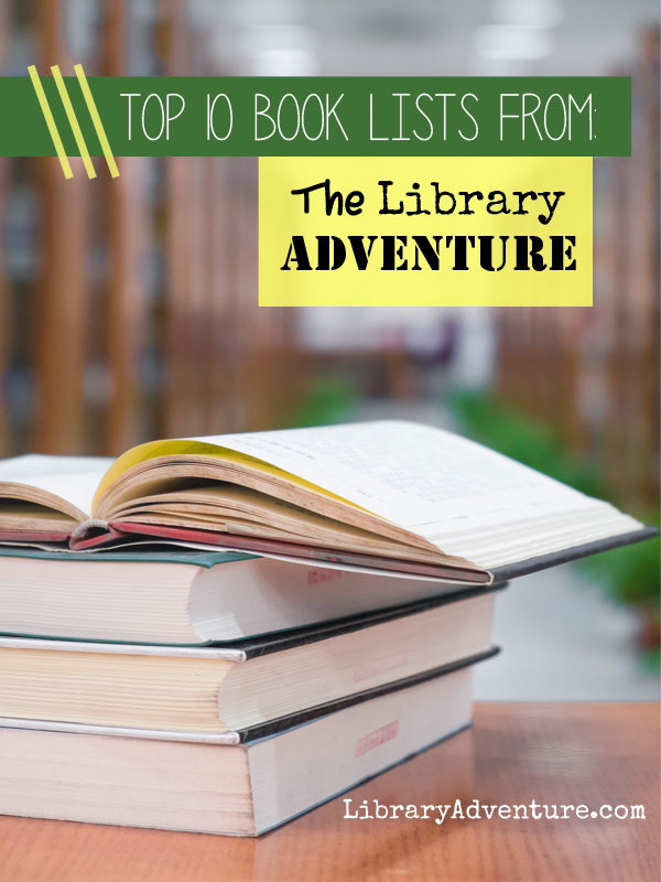 The Top 10 Book Lists on The Library Adventure